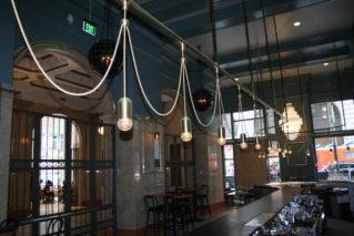 View from the bar at Treasury.
